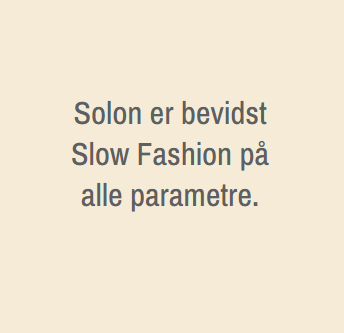 Slowfashion Solon Handmade