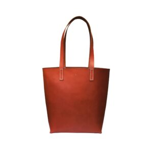 Shopper i cognac